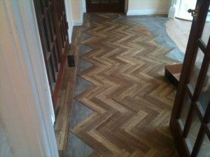 Parquet wooden flooring Brighton