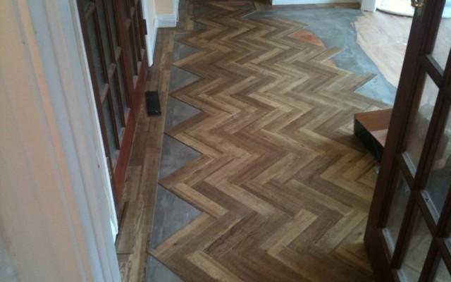 Parquet wooden flooring Brighton